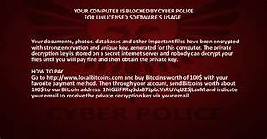 Complete Cyber Police Virus Removal Guide  Full Instructions