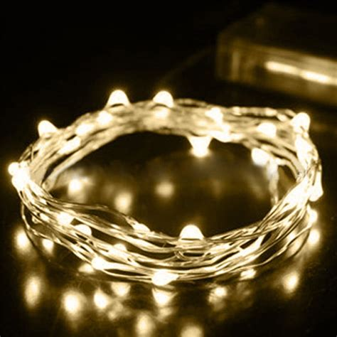 battery outdoor string lights 2 3 5m silver wire led mini fairy string lights outdoor 4