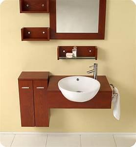 25″ Stile Modern Bathroom Vanity w/ Mirror & Side Cabinet ...