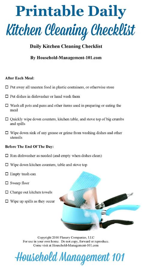 kitchen cleaning tips daily tasks   clean kitchen