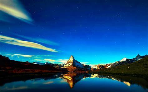 Scenic [07] Mountainreflection [versionone084023