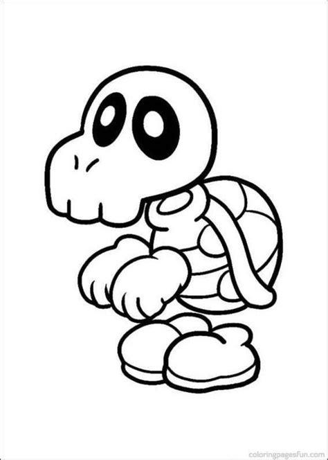 Kleurplaat Yoshi Ei by Mario Bros Coloring Pages 12