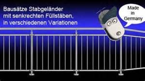 Treppengeländer Selber Bauen Stahl : edelstahlgelaender baus tze f r balkongel nder ~ Lizthompson.info Haus und Dekorationen