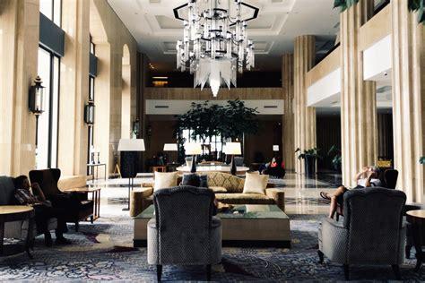 lobby interior hotel tentrem yogyakarta indonesia