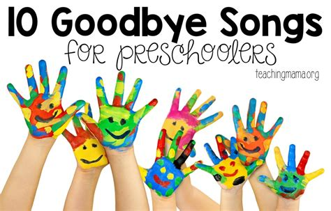 goodbye songs for preschoolers 767 | 10 Goodbye Songs for Preschoolers