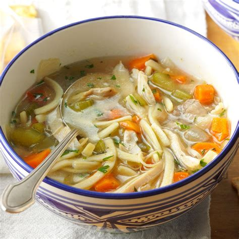 noodle soup recipe the ultimate chicken noodle soup recipe taste of home
