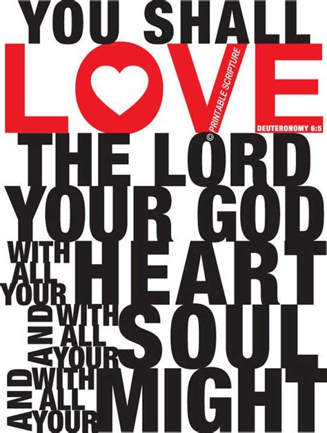 Heart failure love touching pictures. Deuteronomy 6:5. Love The Lord Your God. 8x10. DIY ...