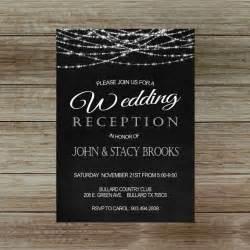 reception only wedding invitations best 25 reception only invitations ideas on reception invitations wedding