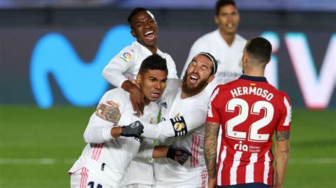 Resultado Real Madrid - Atlético de Madrid: goles y ...