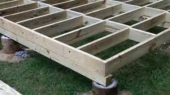 Cheap Shed Kits 10 X 12 by How To Build A Shed Floor Youtube