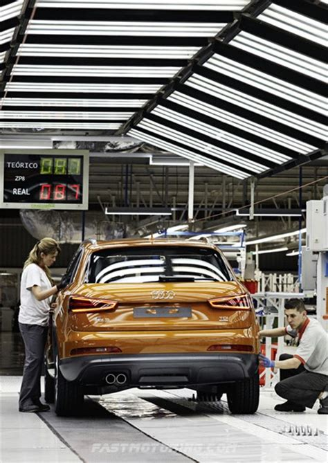 audi  begins rolling   assembly    seat