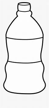 Bottle Water Template Empty Clipart Templates sketch template