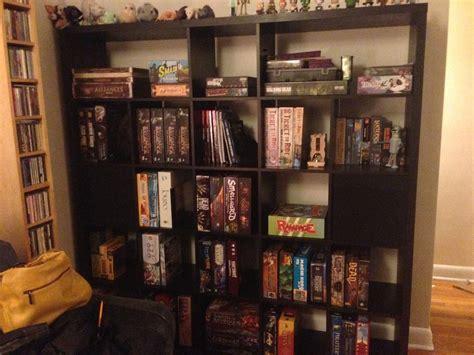 ikea kallax   board game shelf storage diy home