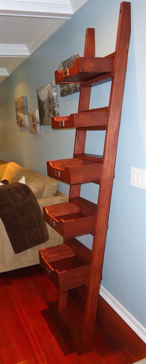 michaels leaning ladder shelf  wood whisperer