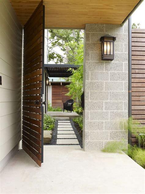 11 Excellent Choices Of Modern Fences Design  집 디자인, 정원