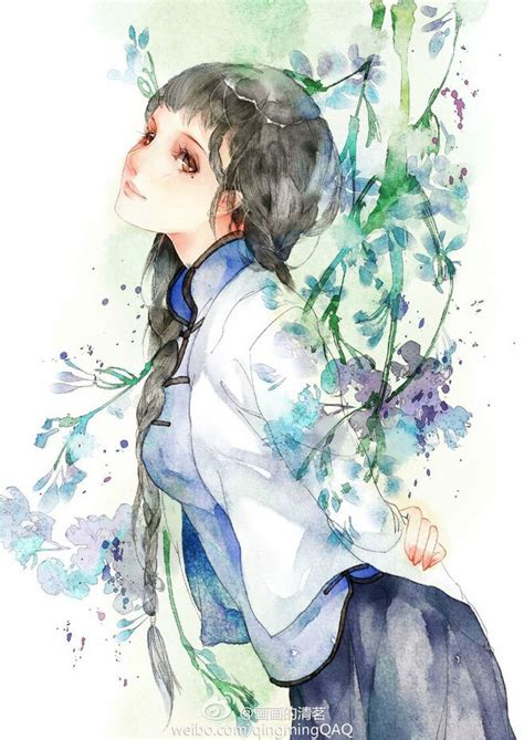 watercolor anime 1000 ideas about watercolor on