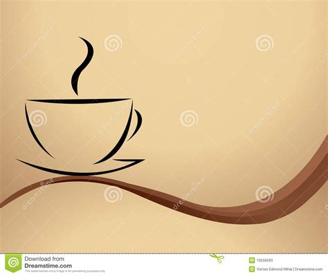 See more ideas about coffee illustration, coffee art, coffee. Vector Illustration Of Coffee Stock Photos - Image: 10556593