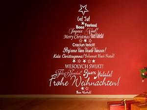 Besonders Auf Englisch : sch ne wandtattoo weihnachtsmotive und geschenke auf ~ Buech-reservation.com Haus und Dekorationen