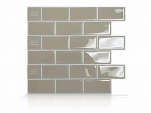 Carrelage Auto Adhésif : la smart tiles carrelage mural auto adh sif et ~ Premium-room.com Idées de Décoration