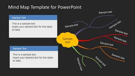creative mind map template  powerpoint slidemodel