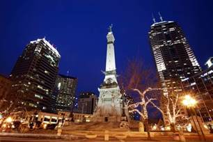 Monument Circle Indianapolis Indiana
