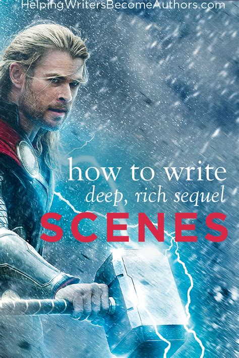 How to Get the Most Out of Your Sequel Scenes - Helping ...