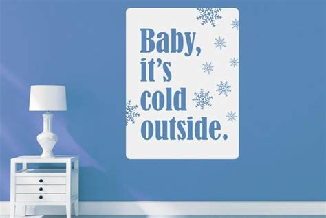 baby  cold  cut   wall stickers art decals