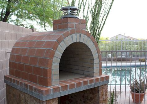 build a wood fired brick oven diy pizza oven by