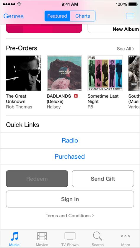 how to put itunes gift card on iphone redeem itunes and apple gift cards with the