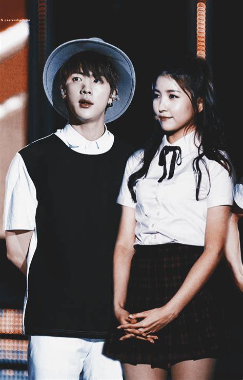 Kpop Couple Fantasy Bts' Jin & Gfriend's Sowon • Kpopmap