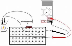 Potentiometer As A Voltage Divider