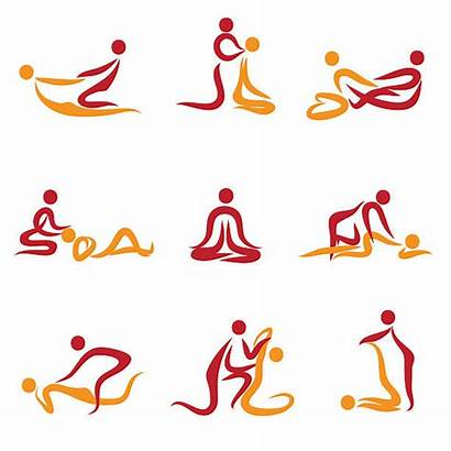 Massage Vector Therapy Therapist Clipart Illustrations Illustration