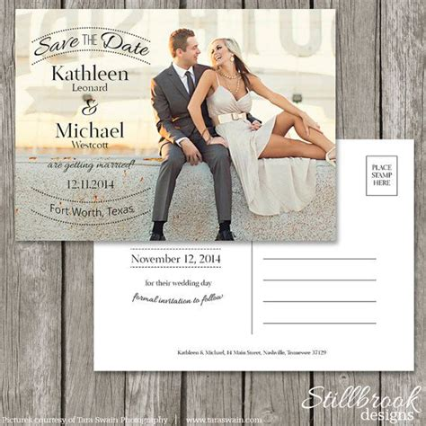 Postcard Template Free Printable And 39 S 39 Best Images About Save The Dates Invites On