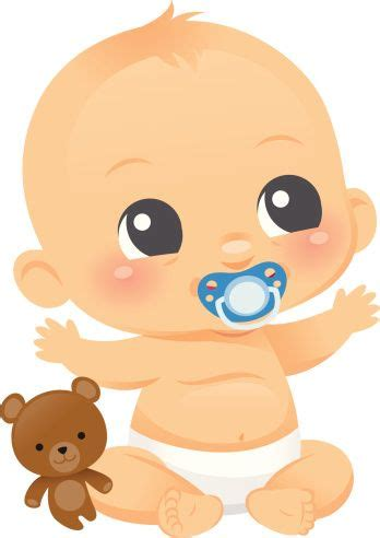 baby clipart baby clip color baby illustration baby boy