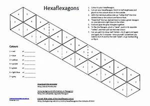 1000 images about hexaflexagons on pinterest activities With hexahexaflexagon template