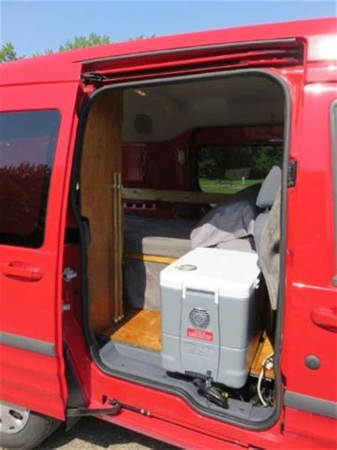 ford transit connect camper van conversion great fuel