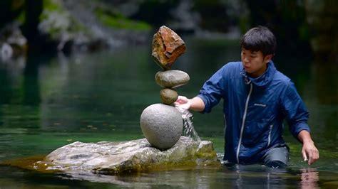 rock balancing tips rockbalancing demo 2016 video clip 3 rock s portrait bgm vexento droplets youtube