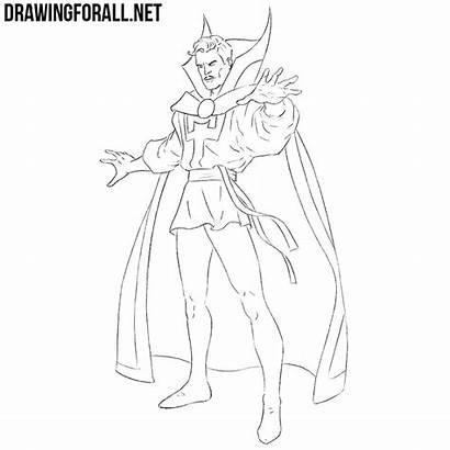 Strange Doctor Draw Drawingforall