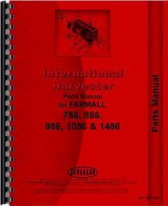 International Harvester 1086 Tractor Parts Manual