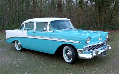 Driven 1956 Chevrolet Bel Air  Iconic Americana Wayne's