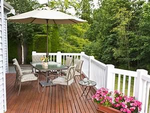 Unterschied Balkon Terrasse : 50 wood deck design ideas designing idea ~ Lizthompson.info Haus und Dekorationen