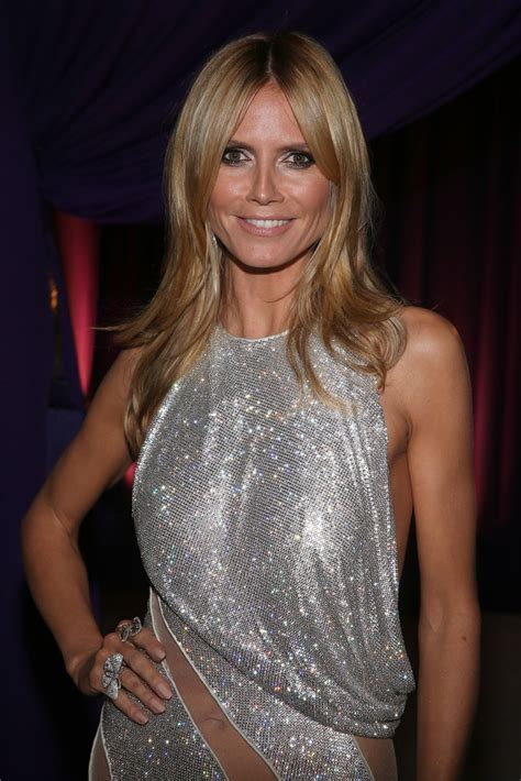Heidi Klum Photos Arrivals The Elton John Aids
