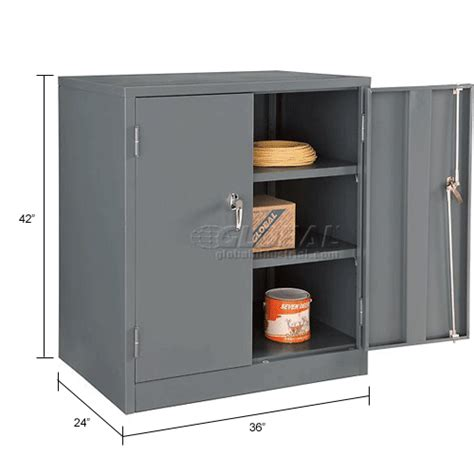 steel kitchen cabinet cabinets wall mount counter height global counter 2501
