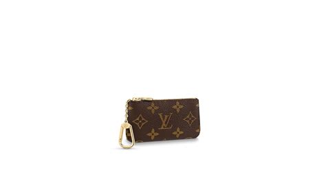 key pouch monogram small leather goods louis vuitton