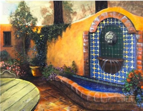perfect images mexican courtyards home plans blueprints