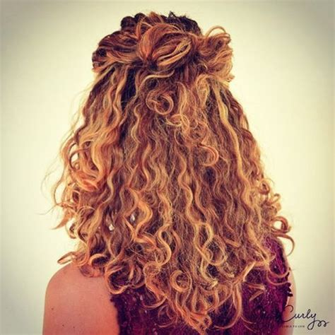 5 hairstyles for curly and wavy hair entertainmentmesh