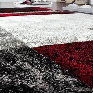 Teppich Bettumrandung 3 Teilig : bettumrandung teppich l ufer marmor optik karo rot grau schwarz l uferset 3 tlg teppiche ~ Bigdaddyawards.com Haus und Dekorationen