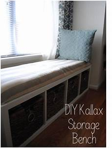 Ikea Kallax Diy : the adorable mess diy ikea kallax storage bench ~ Orissabook.com Haus und Dekorationen