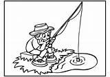 Coloring Fishing Boy Fish Cierpliwy Rybak Ausmalbilder Angeln Zum Bestcoloringpagesforkids Malvorlagen Summer Kolorowanka Kinder Camping Kostenlose Comments sketch template