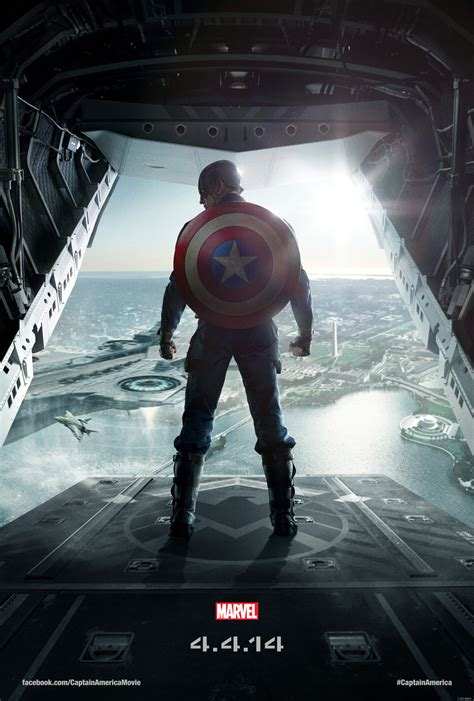 captain america poster3 captain america the winter soldier new poster